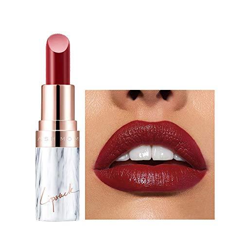 Aktionspreis,Lippenstift,PorLous Neu Beliebt Schönheit Anhaltendes Make-up Heller Lipgloss Lipstick Langanhaltender Lipgloss Feuchtigkeitsspendend 4