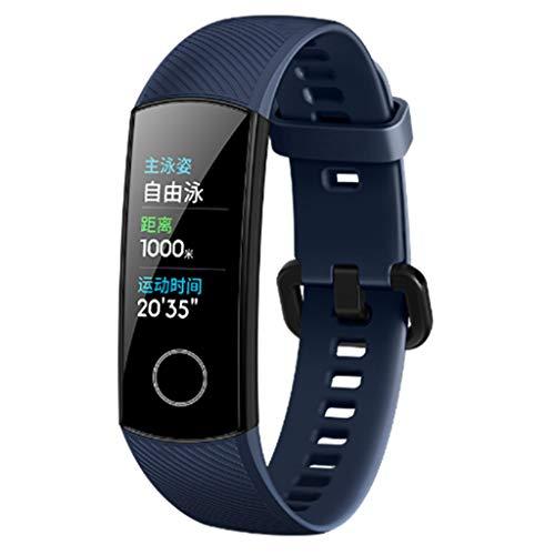 HUAWEI Honor Band 5 Smart-Armband, Bewegungsdaten-Tracker, GPS-Anti-Lost, AMOLED-Bildschirm, Blutsauerstoff-Überwachung, 50 m tiefes Wasser wasserdicht, OTA-Upgrade, kompatibel mit iOS HUAWEI PC-Gerät