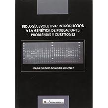 Biología evolutiva : introducción a la genética de poblaciones, problemas y cuestiones