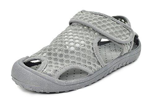 Kinder Geschlossene Mesh Sandalen Jungen Mädchen Auflernschuhe Sommer weiche Sohle Kleinkind Schuhe Atmungsaktiv Rutschfest