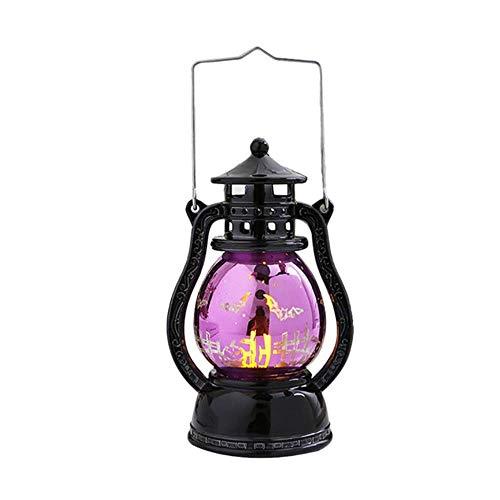 TTYAC 2019 Neue Halloween led Laterne Vintage Hexe Schloss led licht Lampe Partei hängen dekor hohe qualität, a, China (Quinn Custome Harley)