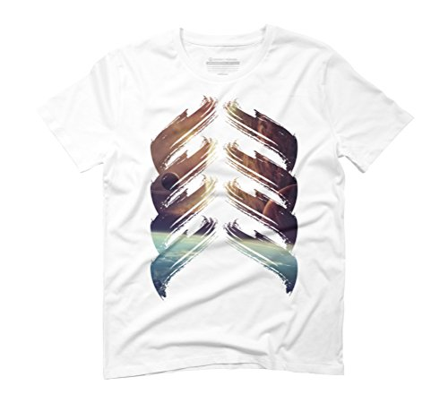 lung is my universe Men's Large White Graphic T-Shirt - Design By Humans