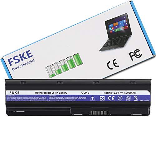 FSKE 593553-001 MU06 Batterie pour Ordinateur Portable HP 593562-001 593554-001 Pavilion DV6 DV7 G62 G6 G72 Compaq Presaio CQ58 CQ57 CQ56 CQ42 Series Notebook Battery, 10.8V 5000mAh 6-Cellules