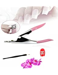 Bella coqui net COUPE CAPSULES TIP FAUX ONGLES GUILLOTINE NAIL ART MANUCURE + 1 PETIT COUPE CUTICULES + 1 PETIT BIJOU STRASS ONGLE LETTRE