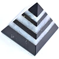 Pyramid Black Agate + White Agate 1.5-2 inch + 3 TUMBLE Gemstone Chakra Balancing Reiki Healing preisvergleich bei billige-tabletten.eu