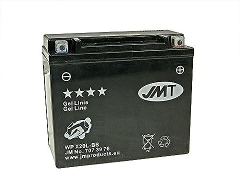 Batterie JMT GEL - YTX20L-BS 12 Volt - HARLEY DAVIDSON FXD Series 1340 97-98