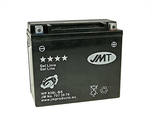 Batterie JMT GEL - YTX20L-BS 12 Volt - MOTO GUZZI California EV / EV Touring 1100 03-05 [inkl. 7,50 € Batteriepfand]