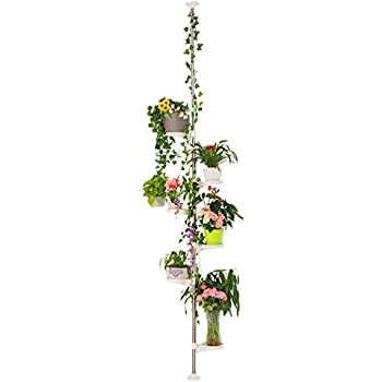 Baoyouni Indoor Plant Tension Pole Flower Display Stands