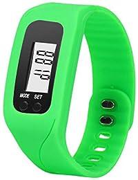 Moda Reloj Unisex Reloj Inteligente LED Digital con Banda de Silicona Smartwatch Deportivo Correa de Silicona