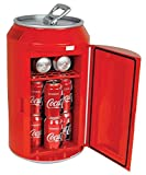 Coca Cola CC10G 12-Can Capacity Can Shaped 12-V Car and 120-V Home Fridge, Red 59586509889