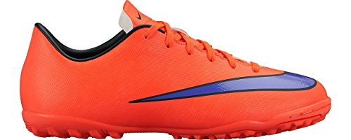 Nike  Mercurial Victory V TF, Chaussures de Football mixte enfant - Jaune