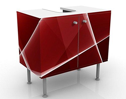 Apalis 54208 Waschbeckenunterschrank Red Reflection, 60 x 55 x 35 cm - 5