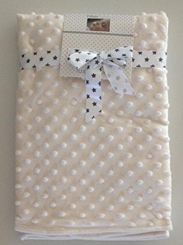 belle-couverture-pour-bebe-blanc-casse-75-x-75-cm-petite-bulle-sherpa-tres-doux