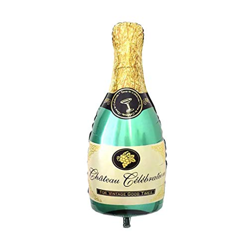 e Champagner Wein Flasche Ballon Happy Birthday Party (A) ()