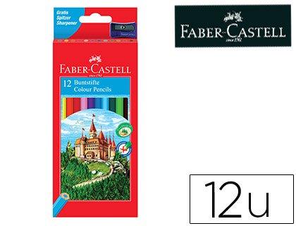 Faber Castell 120112 – Pack de 12 lápices hexagonales