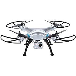 GoolRC Syma X8G 2.4G eje 6 Gyro 4 canales RC Quadcopter con una cámara HD