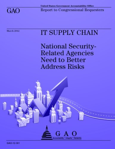 Its Supply Chain: National Security-Related Agencies Need to Better Address Risks por US Government Accountability Office