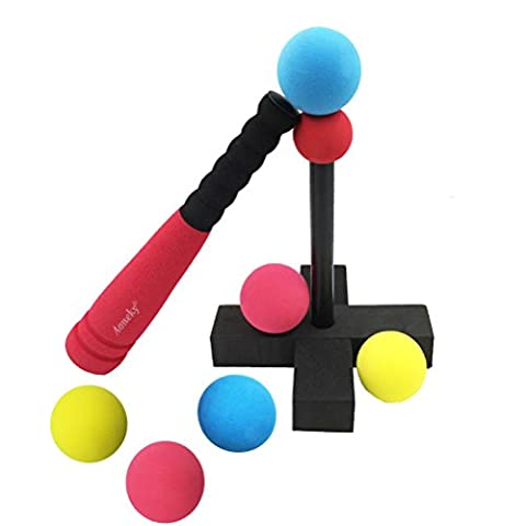 Aoneky Mini Foam Tball Set for Toddler - Carry Bag