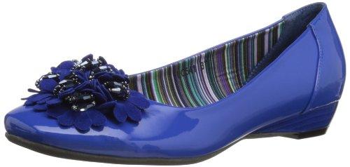 Lunar Flc541, Ballerines femme Bleu - bleu