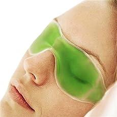 Eye maschera, maschera di raffreddamento Eye gel, Ice goggles Eyestrain affaticamento degli occhi rimozione occhiaie Ice bag efficiente Sleep Eye Mask (colore casuale)