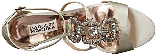 Badgley Mischka Allie Textile Sandale IVRSAT