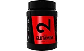 Dual Pro Glutamine | L-Glutamina En Polvo 100% Pura | Suplemento Deportivo Para Ganar Masa Muscular|Aminoácidos|Vegano Y Sin Gluten|Certificado Por Laboratorio|500 Gramos|Fabricado En España