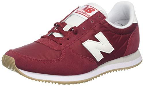Scarlet Damen Schuhe (New Balance Damen 220 Sneaker, Rot (Nb Scarlet/White CRA), 37 EU)