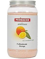 PEDIBAEHR - Fußbadesalz Orange, 2kg