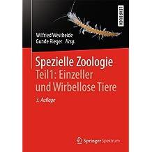 Spezielle Zoologie. Teil 1: Einzeller und Wirbellose Tiere