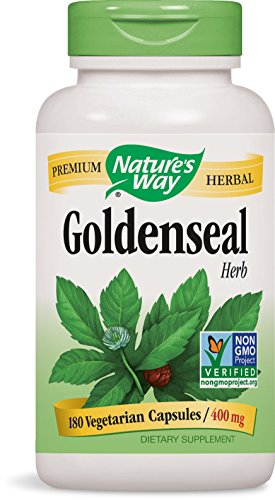 Natures Way Goldenseal, Herb 180 Caps Test