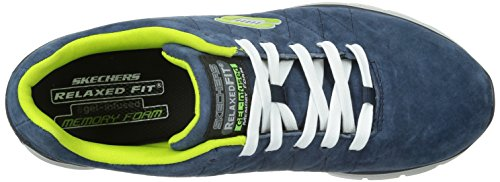 Skechers Damen Skech-Flex-Natural Vigor Turnschuhe Blau (Nvlm)
