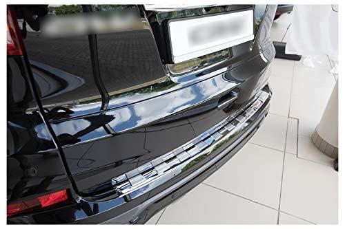 Preisvergleich Produktbild teileplus24 L545 Ladekantenschutz aus V2A Edelstahl mit Abkantung