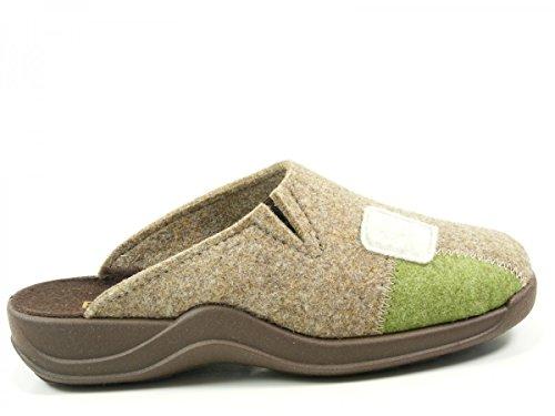 Pantofole Raddoppiato Beige Rohde Donna A 2312 Caldo 56 ngZ86