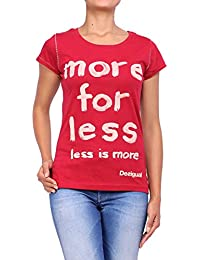 DESIGUAL - Camiseta de manga corta para mujer