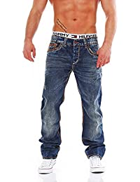 CIPO & BAXX - C-1032 - Regular Fit - dicke Naht - Men / Herren Jeans Hose
