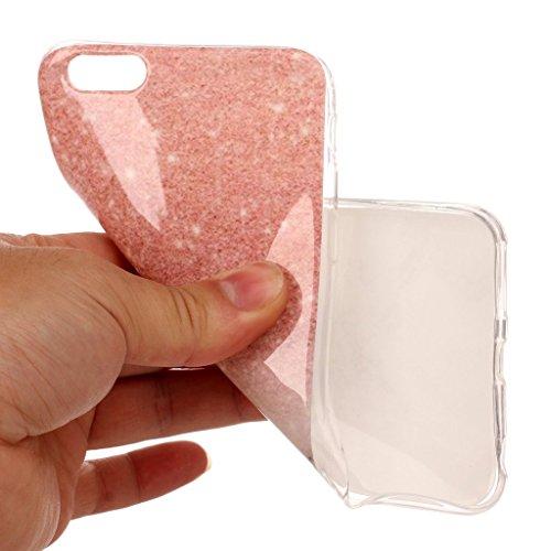 "Coque pour Apple iPhone 6S / 6 , IJIA Transparent Motif Marbre Rose TPU Doux Silicone Bumper Case Cover Shell Housse Etui pour Apple iPhone 6S / 6 (4.7"") (MM18) MM18"