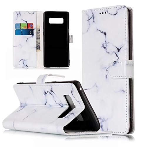 kompatibel mit Galaxy A5 2017 Brieftasche im Bookstyle Marmor Gemalt Schutzhülle Handyhülle PU Ledertasche Etui Flip Wallet Cover Stand Case Card Slot Leder Tasche Bumper