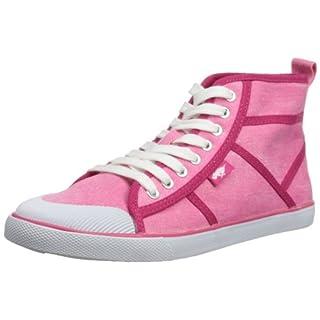 Rocket Dog Women's Amati High-Tops - Pink, 4 UK (37 EU)