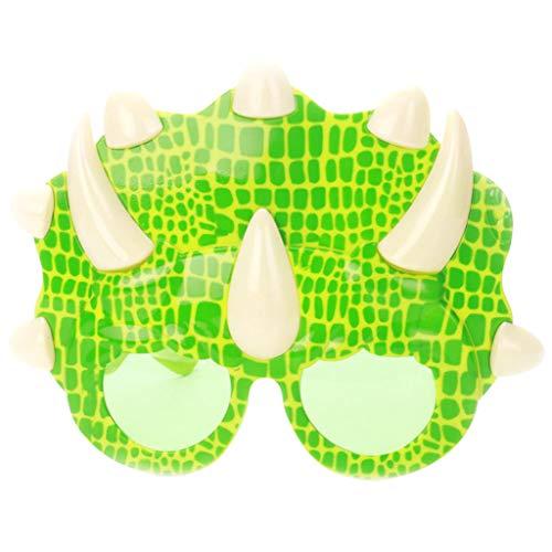 F Fityle Sonnenbrillen Party Brille Lustige Kostüm Brillen Zubehör Für Kinder Erwachsene - - Kinder Triceratops Kostüm