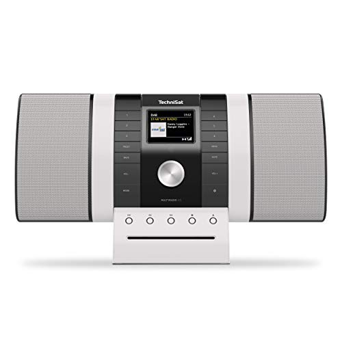 TechniSat Multyradio 4.0 Internetradio (WLAN Radio, DAB+, UKW, Alexa Sprachsteuerung, Spotify Connect, Bluetooth, CD-Player, USB, Farbdisplay, Musikstreaming, 2 x 10 Watt Stereo Lautsprecher)
