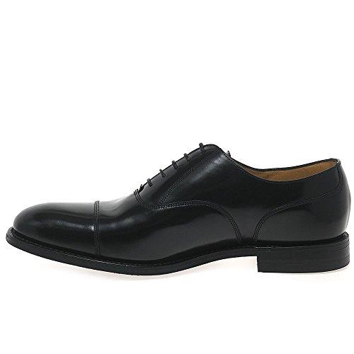 Loake 806 Mens Formelle Lacets Chaussures Noir Brilliant