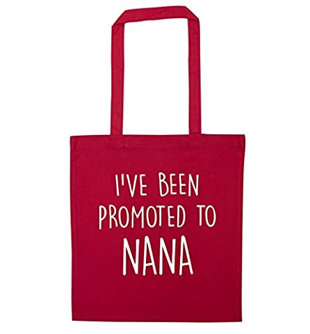 I've been promoted to nana tote bag