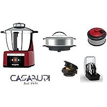 Magimix Cook Expert Rojo con opzional Color 1) olla X Cocina a vapore- XXL
