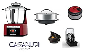 magimix cook expert red with optional 1 pot to cook. Black Bedroom Furniture Sets. Home Design Ideas