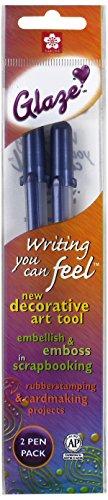 aze Bold Point Pens, 2Stück, Royal Blau ()