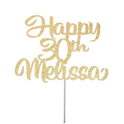 Andrea1Oliver Alles Gute zum Geburtstag Cake Topper Geburtstag Dekor Geburtstagskuchen Geburtstag Party Geburtstag Banner Geburtstag Kerze Geburtstag Topper