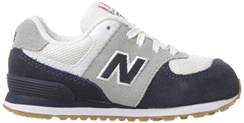 New Balance Unisex-Kinder Kl574wtg M Sneakers Blue/White Gum