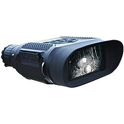 Digital Vision Nocturne Jumelles, Qiyat Infrarouge 7x 31étanche Chasse IR Télescope avec écran 5,1cm TFT LCD in-View, 396,2m/400m de Gamme, 1280* 720p HD Photo Camera Video Recorder