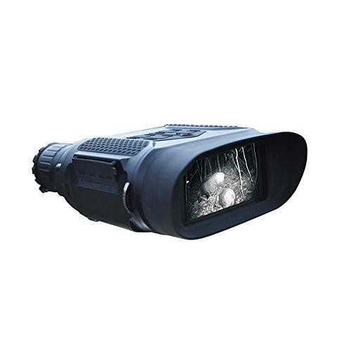 Digitales Nachtsichtfernglas, QIYAT-Infrarot-Jagdfernrohr 7 x 31, wasserdicht, mit 2-Zoll-TFT-LCD-Display (5,1cm), 400 m Reichweite, 1280 x720p HD-Fotokamera/Videorekorder