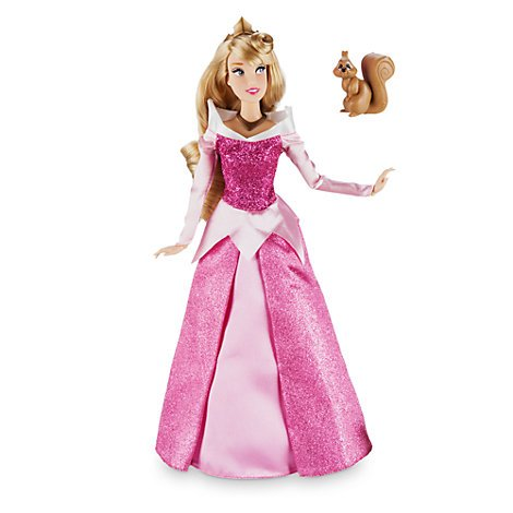 Offizielle Disney Dornröschen 30cm Aurora Klassische Puppe